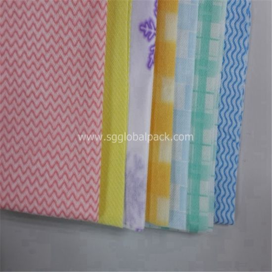 White Color Non Woven Spunlace Fabric for Wipe pictures & photos