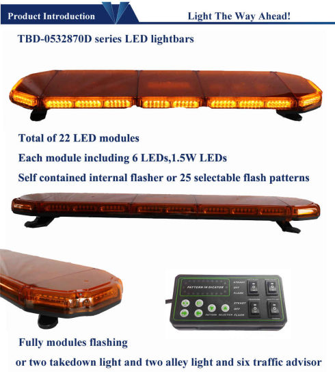 E-MARK Approved LED Warning Lights pictures & photos