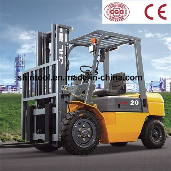 2 Ton Diesel Forklift Dimensions with Isuzu C240 Engine (CPCD20)