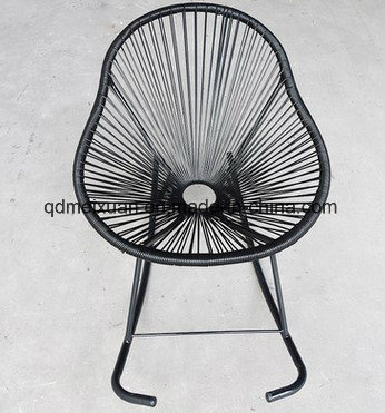 Wholesale Outdoor Leisure The Cane Makes up Furniture The New Lazy Cane Rocking Chair Modern Fashion Creative Rocking Chair (M-X3552)