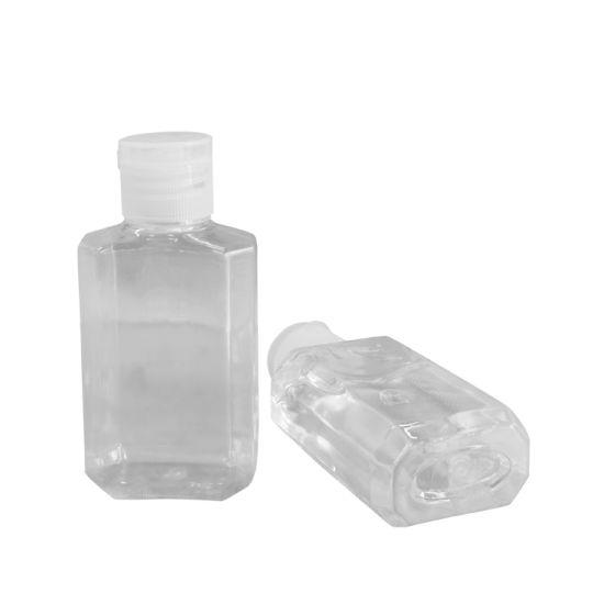 60ml Hand Sanitizer Bottle with Flip Cap Hand Wash Pet Bottle