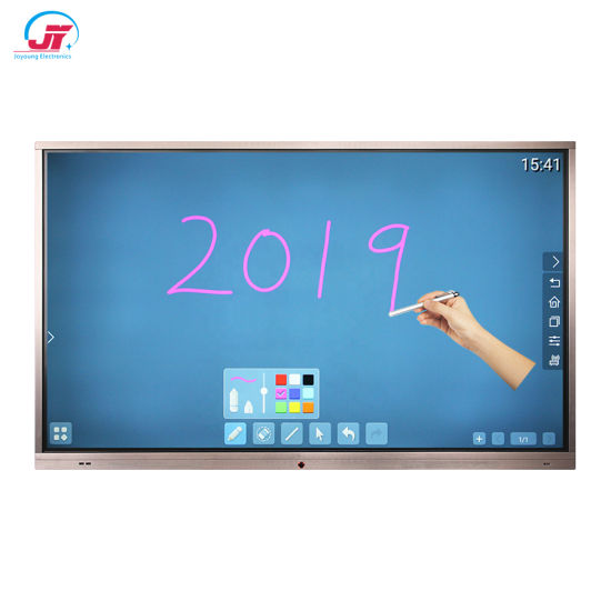 Electronic Digital All in One 4K Writing Interactive White Board Smart Whiteboard
