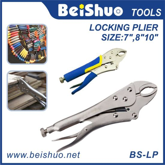 "Am-Tech 10/"" Curved Jaw Locking Pliers CR-MO"