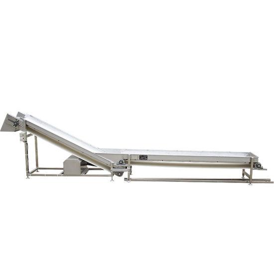 Industrial Rubber Conveyor Belt Inclined Rubber Belt Conveyor Machine Wholesale