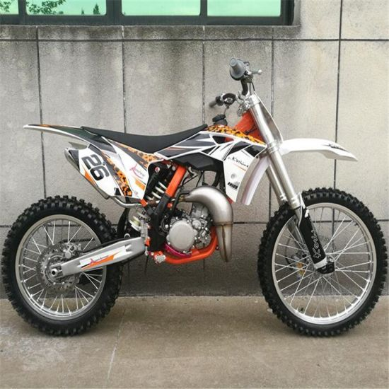 105cc Single Cylinder, Air-Cooled, 2-Stroke Top Speed 120km/H Motocross Dirt Bike Crosscountry Motorcycle pictures & photos