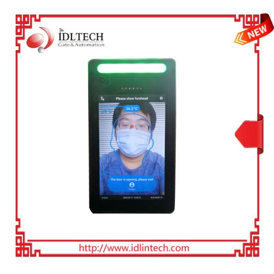 Access Control Body Temperature Measuring Non Contact Face Recognition Terminal