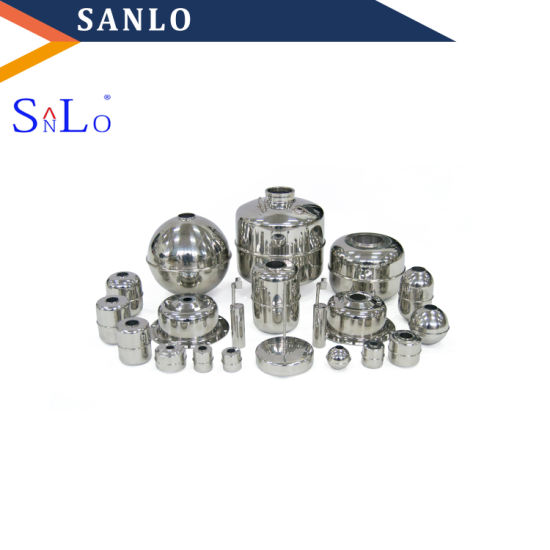 Float Ball: 304 Stainless Steel Through-Hole Flat Float Ball