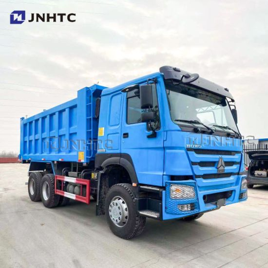 New and Used Sinotruk HOWO 6X4 371 420HP 10 Wheel Dump Tipper Cargo Lorry Van Tow Dumper Concrete Tractor Truck for Sale