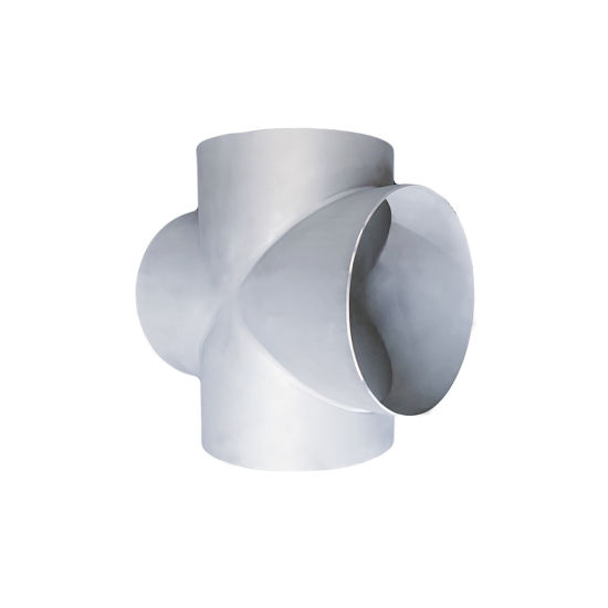Factory Price 304/316L Steel Pipe Stainless Fitting 4-Way Equal Cross