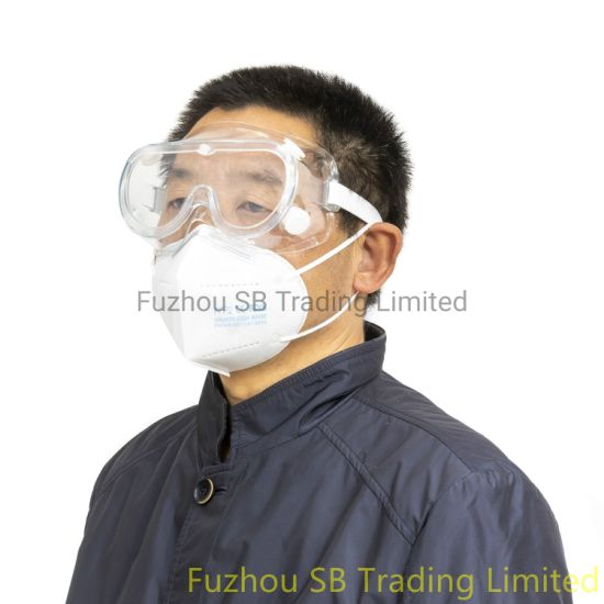 Anti Saliva/Fog Protective Eyewear Medical/Food Safety Goggles Chemical Enclosed Reusable Eye Glasses China Manufacturer pictures & photos
