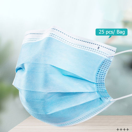 Disposable Personal Non Woven Disposable Face Mask Wholesale 3 Layers Disposable Face Mask