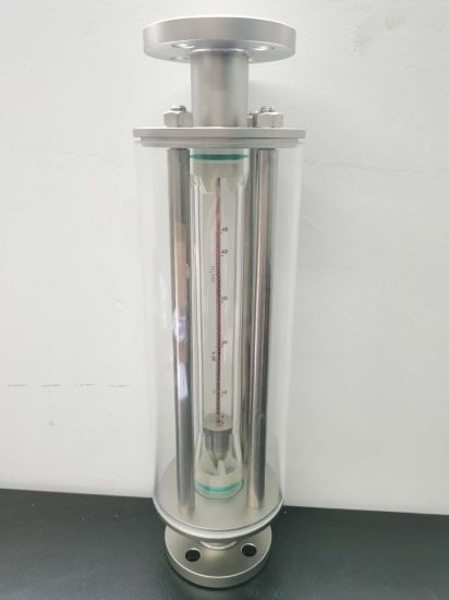 Glass Tube DN50 Hot Water Alcohol Flow Meter