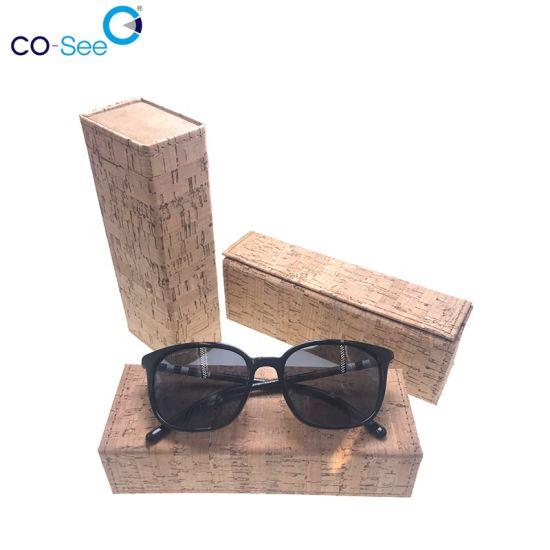 Eco Slim Magnetic Foldable Handmade Custom Logo Trendy Glasses Case
