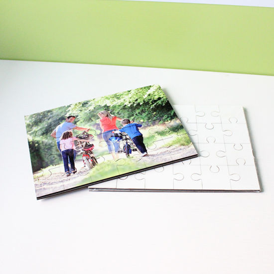 Blanks Jigsaw Puzzles for Personalized Pictures Sublimation Printing