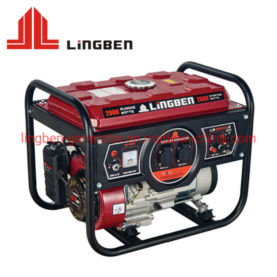 Electric Start Super Quiet King Power General Honda Silent Portable Gasoline Generator pictures & photos