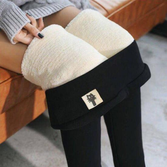 Good Quality Thick Fleece Leggings Plus Size Warm Winter Legging for Women Thermal Leggins High Waist Thermo Pants