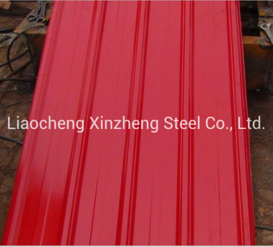 Regular Spangle Corrugated Galvanized Steel for Roofing Sheet