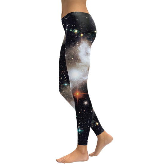 Printed Leggings Workout Pants Womens Yaga Fitness Elastic Trousers pictures & photos