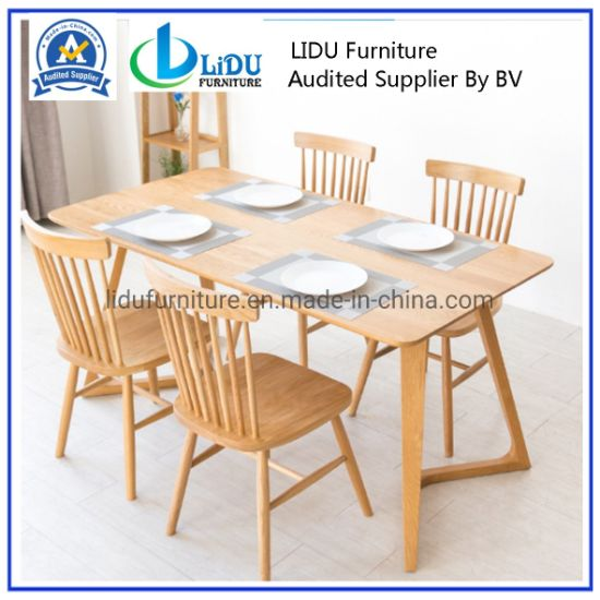 Restaurant Furniture Wood Rectangle Dining Table Fashion Design/Dining Table