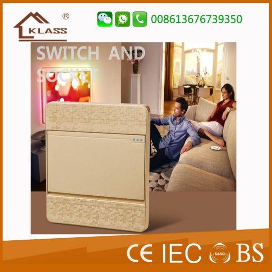 Wenzhou Factory 32A 1 Gang D/P Switch with Neon pictures & photos