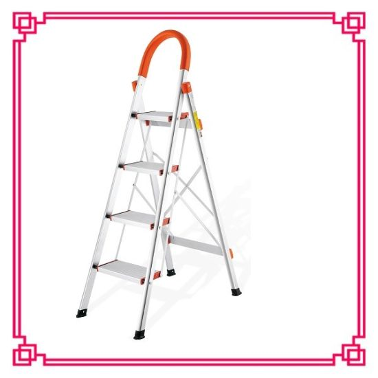 En14138 Aluminium Step Ladder pictures & photos
