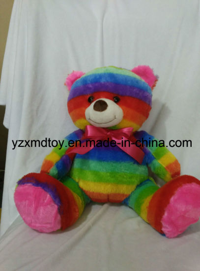 Plush Colorful Teddy Bear LED Bear with Functions