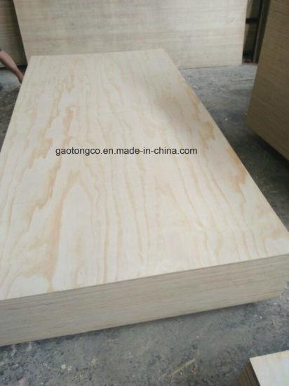 Ce Carb Grade Full Poplar Core Larch Plywood, Radiata Pine Plywood