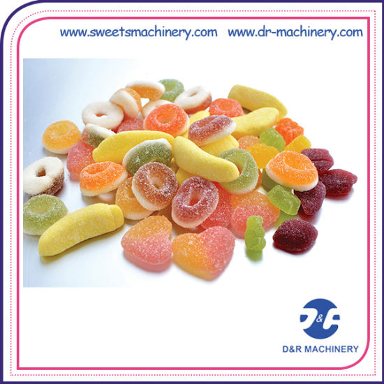 China Starch Mogul Line Gummy Candy Production Professional Candy