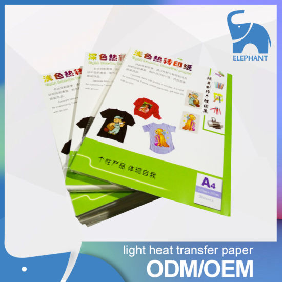 Premium Quality Color T-Shirt  Inkjet Dark Transfer Paper pictures & photos