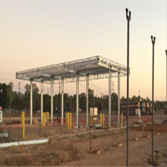 China Metal Structure Gas Station Shed Building for Sale - China