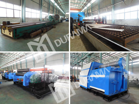 Plate Rolling Machine, Bending Machine, 3 Roller Rolling Machine pictures & photos