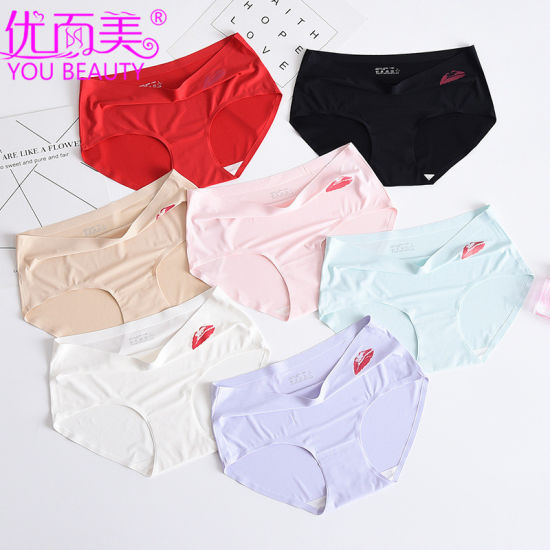 Wholesale Comfort One Piece Invisible Large Size Ice Silk and Cotton Pants