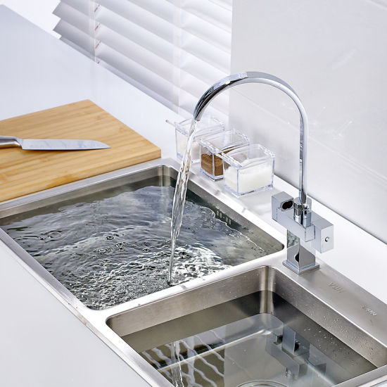 Kitchen Sink Taps With Dual Handles