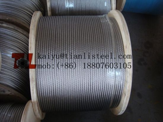 AISI316 Stainless Steel Wire Rope with SGS Reach Test Report pictures & photos