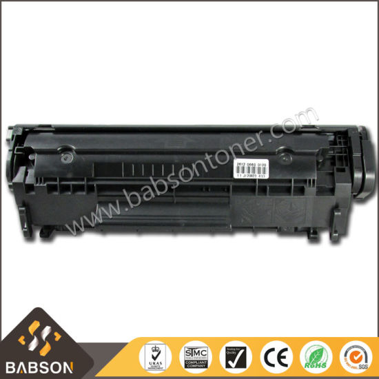 Large Capacity Black Compatible Toner Cartridge Q2612X/12X Toner for HP pictures & photos