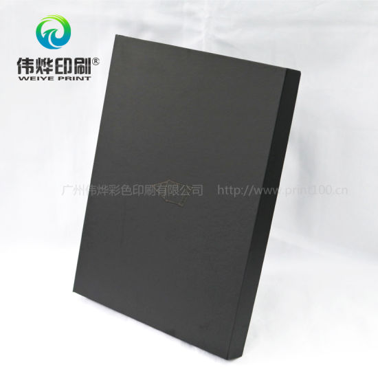 Black Cardboard Printing Gift Packaging Box Spot UV-Coating pictures & photos