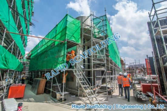 Good Price Octagonlock System Scaffolding pictures & photos