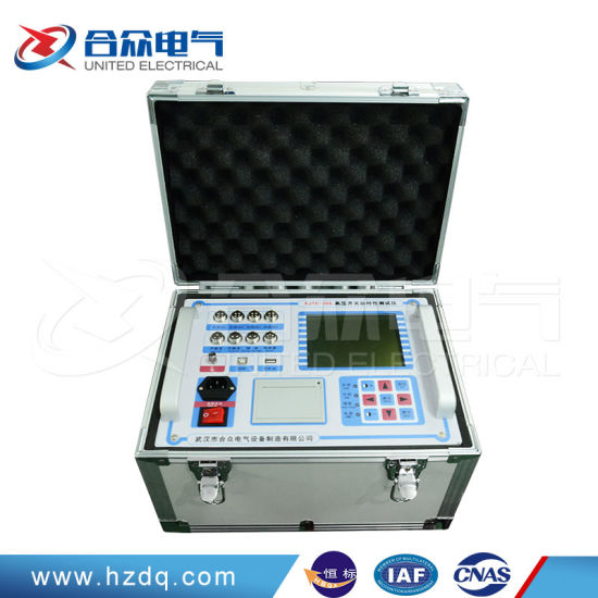 High Voltage Switch Dynamic Characteristic Tester/Circuit Breaker Analyzer