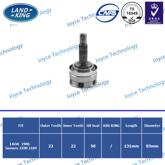 OEM Auto Spare Parts Outer CV Joint Ld-001 for Lada Samara 2108 2109