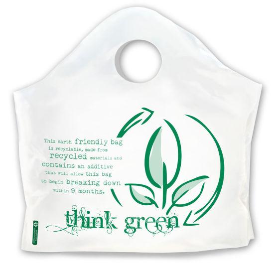 Plastic Handle Bag for Shopping
