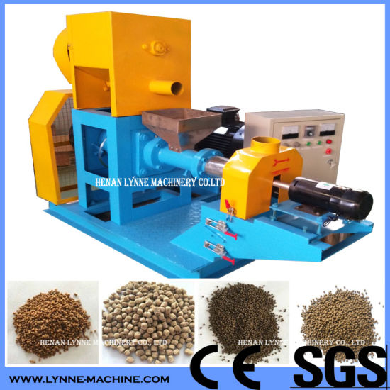 China Ornamental Floating Pellet Fish Feed Making Machine