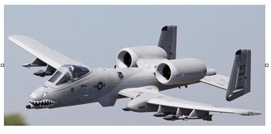 [Hot Item] Grey Foam A10 Electric RC Model Plane