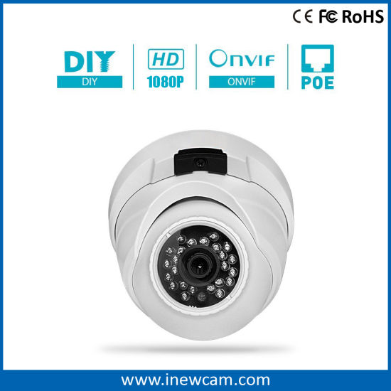 2017 1080P Poe Dome IP CCTV Surveillance Camera