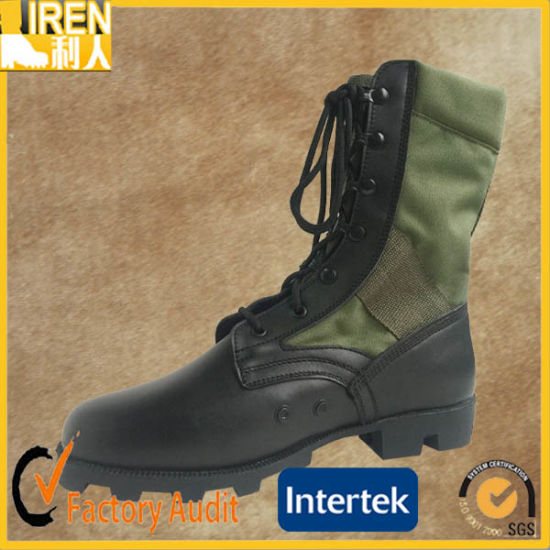 Black New Design Durable Army Jungle Boot pictures & photos