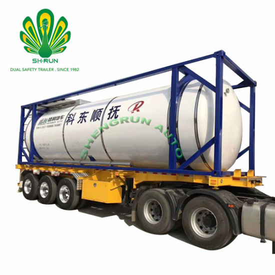 Factory Price for 40 FT Tank Container Crude Oil Tansportation