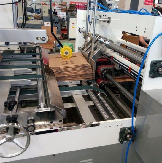 China Make Robot Automatic Cardboard Boxes Folding Gluing