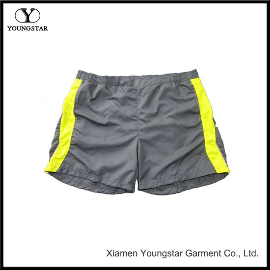 7622e92985 Mens Swim Short Casual Yellow Surfing Beach Shorts Trunk pictures & photos