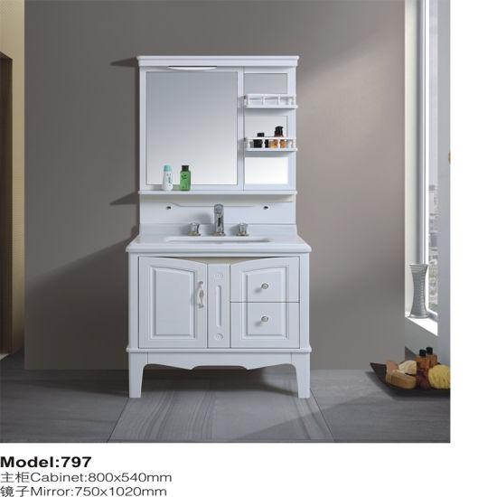 Floor Mounted Bathroom Sanitary Ware Vanity