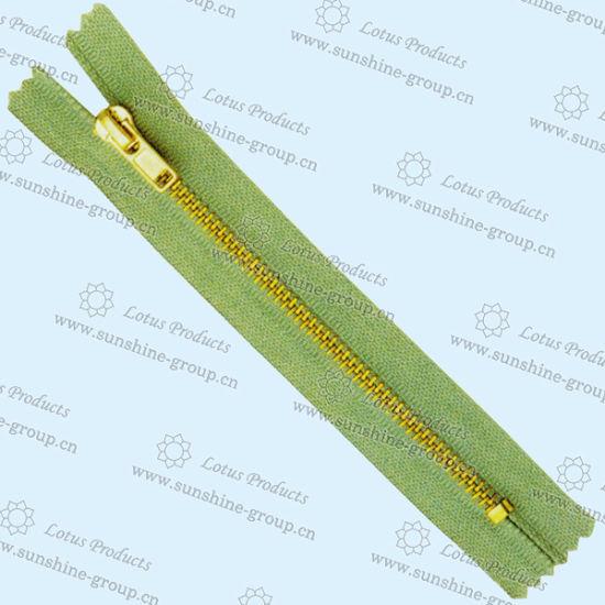 Wholesale High Quality 3# Custom Metal Zipper for Boot 004