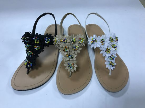 e070b742125bc China Fashion Flat Summer Sandals 2018 for Women Indian Style Ladies ...